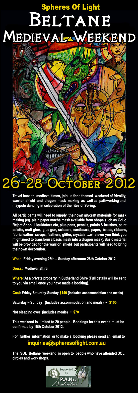 Beltane - Medieval Weekend 2012