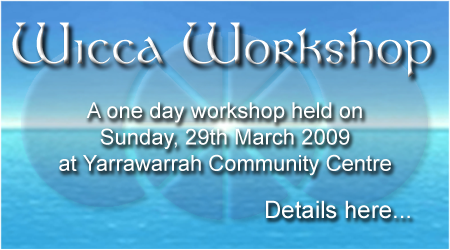 Wicca Workshop 2009