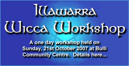 Illawarra Wicca Workshop