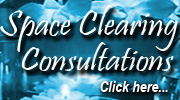 Space Clearing Consultations