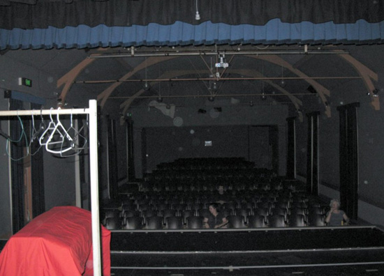 Orbs in the theatre